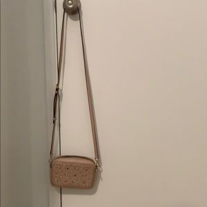 Michael Kors light pink crossbody bag